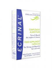 Ecrinal Complément Alimentaire Force & Beauté Ongles et Cheveux 30 Capsules - Boîte 30 capsules