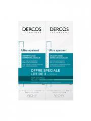 Vichy Dercos Ultra Apaisant Shampoing pour Cheveux Normaux à Gras Lot de 2 x 200 ml - Lot 2 x 200 ml