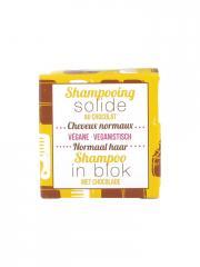 Lamazuna Shampooing Solide Cheveux Normaux Chocolat 55 g - Boîte 1 pain de 55 g