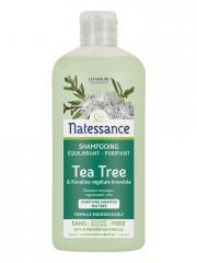 Natessance Shampooing Équilibrant Purifiant Tea Tree 250 ml - Flacon 250 ml