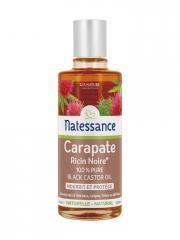 Natessance Huile Carapate Ricin Noire 100 ml - Flacon 100 ml