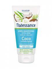 Natessance Après-Shampoing Extra-Doux Coco et Kératine Végétale 150 ml - Tube 150 ml