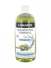 Gamarde Shampooing Purifiant Bois de Cade Cheveux Avec Pellicules Bio 500 ml - Flacon 500 ml