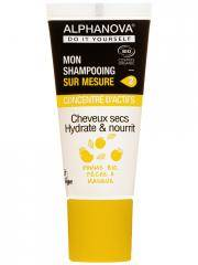 Alphanova DIY Mon Shampooing Sur Mesure Concentré d'Actifs Cheveux Secs Bio 20 ml - Tube 20 ml