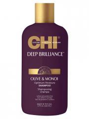 CHI Deep Brilliance Olive & Monoi Shampoing 355 ml - Flacon 355 ml