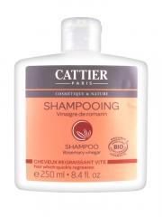 Cattier Shampoing Cheveux Regraissant Vite Vinaigre de Romarin 250 ml - Flacon 250 ml