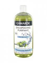 Gamarde Shampoing Purifiant Bois de Cade Cheveux Avec Pellicules Bio 500 ml - Flacon 500 ml