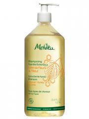 Melvita Shampoing Familial Extra-Doux 1 Litre - Flacon-Pompe 1000 ml