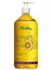 Melvita Shampoing Douche Extra-Doux 1 Litre - Flacon-Pompe 1000 ml