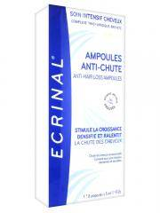 Ecrinal Soin Intensif Cheveux ANP 2+ Ampoules Anti-Chute 8 Ampoules de 5 ml - Boîte 8 Ampoules de 5 ml
