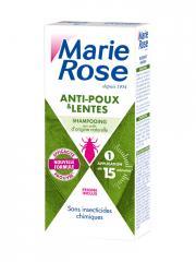 Marie Rose Shampoing Anti Poux et Lentes Nouvelle Formule 125 ml - Flacon 125 ml