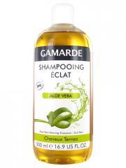 Gamarde Shampoing Eclat Aloe Vera Cheveux Ternes Bio 500 ml - Flacon 500 ml