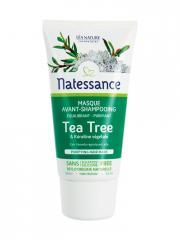 Natessance Masque Avant-Shampoing Tea Tree & Kératine Végétale 150 ml - Tube-applicateur 150 ml