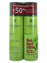 René Furterer Naturia Shampoing Sec à l'Argile Absorbante Lot de 2 x 150 ml - Lot 2 x 150 ml
