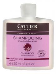 Cattier Shampoing Cheveux Secs Moelle de Bambou Bio 250 ml - Flacon 250 ml
