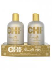 CHI Keratin Kit Keratin Duo - Kit 1 shampooing + 1 après-shampooing