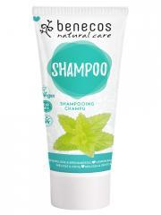 Benecos Shampoing Mélisse et Ortie 200 ml - Tube 200 ml