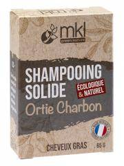 MKL Green Nature Shampoing Solide Ortie Charbon Cheveux Gras 65 g - Boîte 65 g
