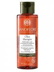 Sanoflore Olea Therapia Huile Fraîche Corps Nourrissante et Énergisante Bio 110 ml - Flacon 110 ml
