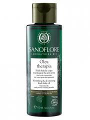 Sanoflore Olea Therapia Huile Fraîche Corps Nourrissante et Anti-Stress Bio 110 ml - Flacon 110 ml