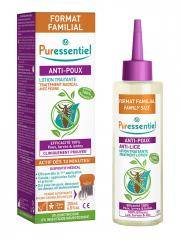 Puressentiel Anti-Poux Lotion Traitante 200 ml + Peigne - Flacon 200 ml + 1 peigne