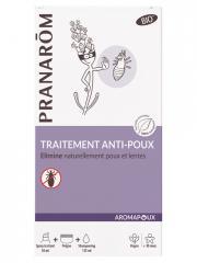 Pranarôm Aromapoux Traitement Anti-Poux Bio - Kit 1 spray + 1 peigne + 1 shampooing