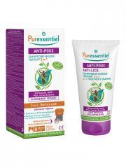 Puressentiel Anti-Poux Shampoing Masque Traitant 2 en 1 150 ml - Tube 150 ml + 1 Peigne