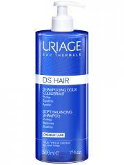 Uriage DS HAIR Shampoing Doux Équilibrant 500 ml - Flacon-Pompe 500 ml