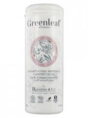 Greenleaf Shampoing Minéral Greencolor Bio 50 g - Boîte plastique 50 g