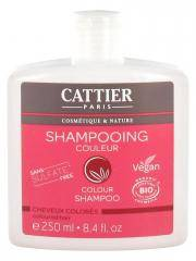 Cattier Shampoing Cheveux Colorés Couleur Bio 250 ml - Flacon 250 ml