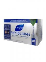 Phyto Phytolium 4 Traitement Anti-Chute Stimulateur de Croissance Homme 12 x 3.5 ml - Boîte 12 ampoules de 3,5 ml