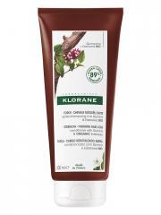 Klorane Force - Cheveux Fatigués & Chute Après-Shampoing à la Quinine et Edelweiss Bio 200 ml - Tube 200 ml
