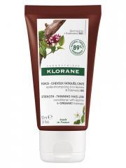 Klorane Force - Cheveux Fatigués & Chute Après-Shampoing à la Quinine et Edelweiss Bio 50 ml - Tube 50 ml