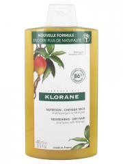 Klorane Nutrition - Cheveux Secs Shampoing à la Mangue 400 ml - Flacon 400 ml