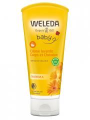 Weleda Baby Crème Lavante Corps et Cheveux Calendula 200 ml - Tube 200 ml