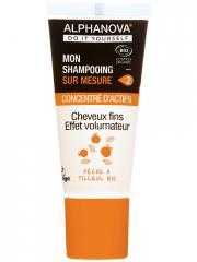 Alphanova DIY Mon Shampoing Sur Mesure Concentré d'Actifs Cheveux Fins Effet Volumateur Bio 20 ml - Tube 20 ml