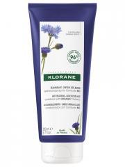 Klorane Déjaunissant - Cheveux Gris, Blonds Après-Shampoing à la Centaurée Bio 200 ml - Tube 200 ml