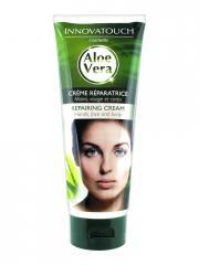 Innovatouch Crème Réparatrice Mains Visage Corps Aloe Vera 200 ml - Tube 200 ml