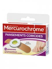 Mercurochrome 16 Pansements Coricides - Boîte 16 pansements