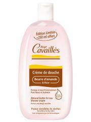 Rogé Cavaillès Crème de Douche Beurre d'Amande et Rose 500 ml + 250 ml Offert - Flacon 500 ml + 250 ml offert