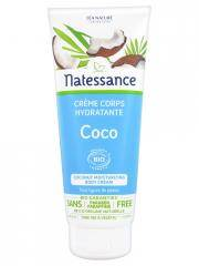 Natessance Crème Corps Hydratante Coco Bio 200 ml - Tube 200 ml