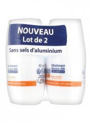 Etiaxil Déodorant Douceur 48H sans Aluminium Lot de 2 x 50 ml - Lot 2 x 50 ml