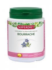 Super Diet Huile de Bourrache 200 Capsules - Boîte plastique 200 capsules