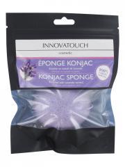 Innovatouch Éponge Konjac Enrichie en Extrait de Lavande - Blister 1 éponge