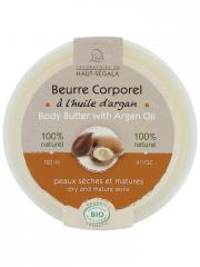 Laboratoire du Haut-Ségala Beurre Corporel à l'Huile d'Argan Bio 120 ml - Pot 120 ml