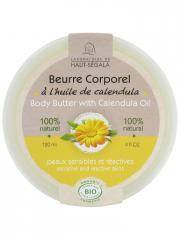 Laboratoire du Haut-Ségala Beurre Corporel à l'Huile de Calendula Bio 120 ml - Pot 120 ml