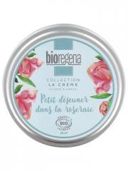 Bioregena Crème Hydratante Petit Déjeuner Dans la Roseraie Bio 180 ml - Boîte 180 ml