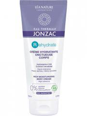 Eau de Jonzac REhydrate Crème Hydratante Onctueuse Corps Bio 200 ml - Tube 200 ml
