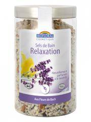 Biofloral Cosmétique Sels de Bain Relaxation Bio 320 g - Pot 320 g
