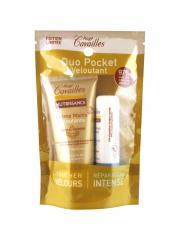 Rogé Cavaillès Duo Pocket Veloutant Crème Mains Veloutante 30 ml + Baume Lèvres 5,5 ml - Sachet 2 produits